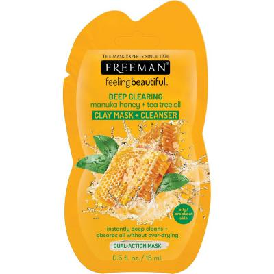 FREEMAN MANUKA HONEY & TEA TREE OIL MASK 15ML