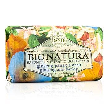 NESTI DANTE BIONATURA GINSENG AND BARLEY SOAP 250G