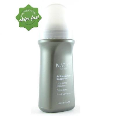 NATIO MEN FRESH ROLL ON DEODORANT 100G (Special buy online only)