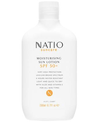 Natio Moisturising Sun Lotion SPF 50+