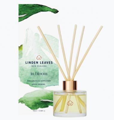 Linden Leaves In Bloom Fragrance Diffuser Green Verbena 100ml