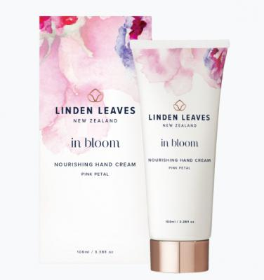 Linden Leaves In Bloom Nourishing Hand Cream Pink Petal 100ml