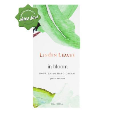 LINDEN LEAVES IN BLOOM NOURISHING HAND CREAM GREEN VERBENA 100ML