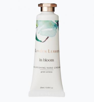 Linden Leaves In Bloom Nourishing Hand Cream Green Verbena 25ml