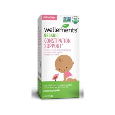 Wellements Organic Constipation Support 120ml
