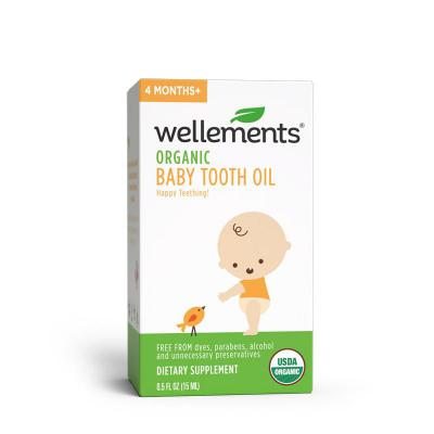 Wellements Baby Tooth Oil 15ml