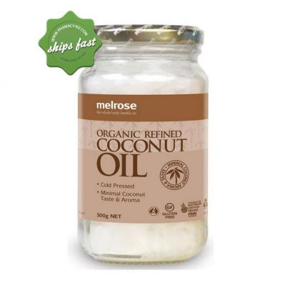 MELROSE ORGANIC REFINED COCONUT OIL 300