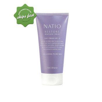 NATIO RESTORE MATURE SKIN DAY CREAM SPF15 75ML (Special buy online only)