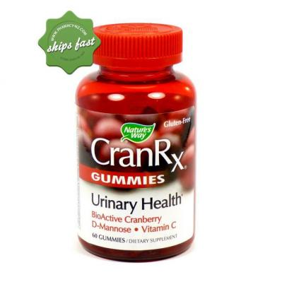 NATURES WAY CRANRX GUMMIES 50 GUMMIES