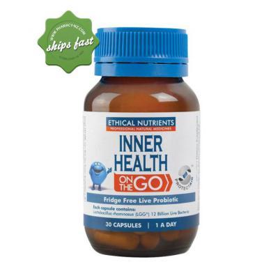 INNER HEALTH ON THE GO CAPS 30
