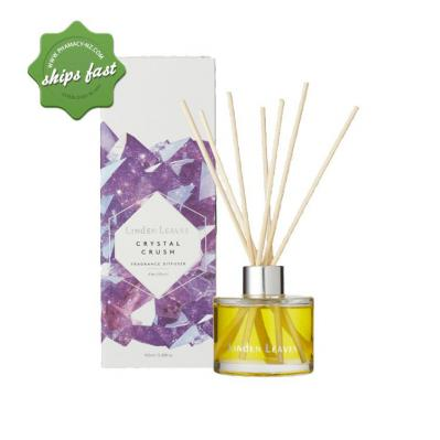 LINDEN LEAVES CRYSTAL CRUSH AMETHYSTS DIFFUSER 100ML