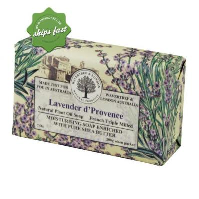 WAVERTREE AND LONDON NATURAL PRODUCTS LAVENDER D PROVENCE SOAP 200G