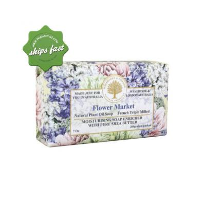 WAVERTREE AND LONDON SOAP FLOWER MARKET 200G