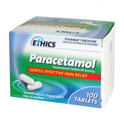Ethics Paracetamol 500mg 100 Tablets