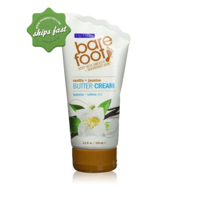 FREEMAN BARE FOOT VANILLA AND JASMINE BUTTER CREAM 125ML