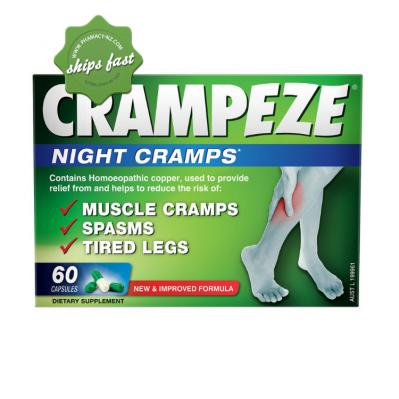CRAMPEZE NIGHT CAPSULES 60s