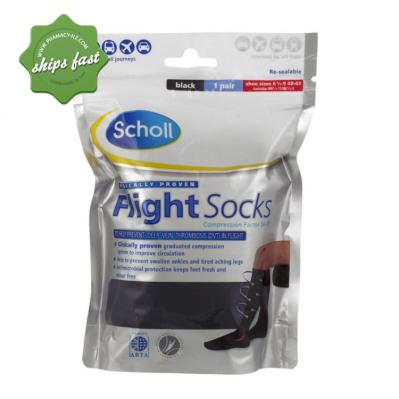 SCHOLL FLIGHT SOCKS SIZE 9-12