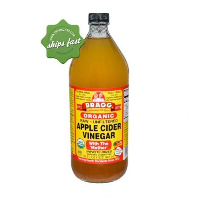 BRAGG ORGANIC APPLE CIDER VINAGER 946ML