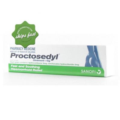PROCTOSEDYL OINTMENT 15gm