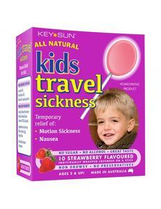 All Natural Kids Travel Sickness Lollipops