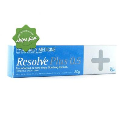 RESOLVE PLUS 0 5 CREAM 30GM