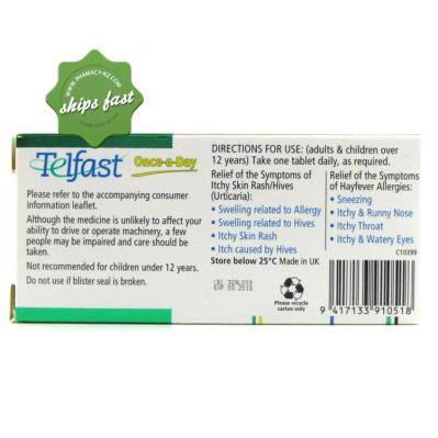 Tablet For Itching And Rashes