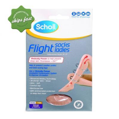 SCHOLL FLIGHT SOCKS UK4-6 LADY