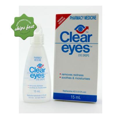 CLEAR EYES DR 15ML