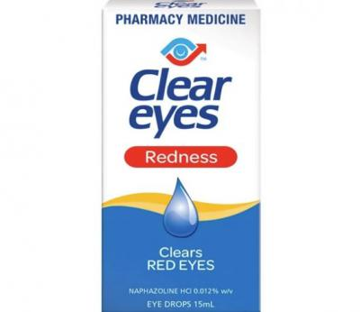 CLEAR EYES REDNESS 15ML
