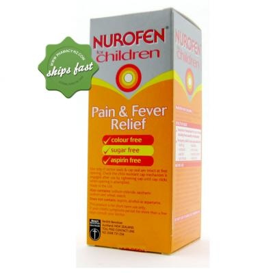 NUROFEN CHILDRENS LIQUID ORANGE 200ML