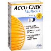ACCU CHEK MULTICLIX LANCETS 24