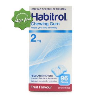 HABITROL 2MG FRUIT GUM 96 S