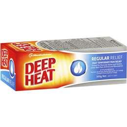 DEEP HEAT MENTHOL RUB 100G