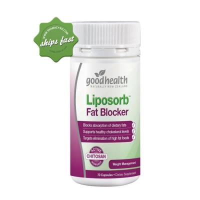 GOOD HEALTH LIPOSORB FAT BLOCKER 70 CAPSULES