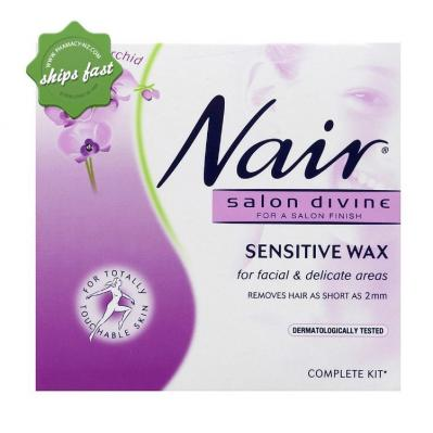 Nair Salon Divine Sensitive Wax for Facial and Delicate Areas 100g -