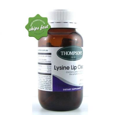 THOMPSONS LYSINE LIPCARE 60
