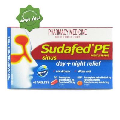 SUDAFED PE SINUS DAY AND NIGHT 48