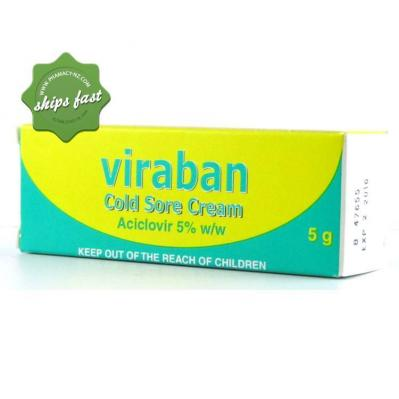 VIRABAN COLD SORE OINTMENT 3G