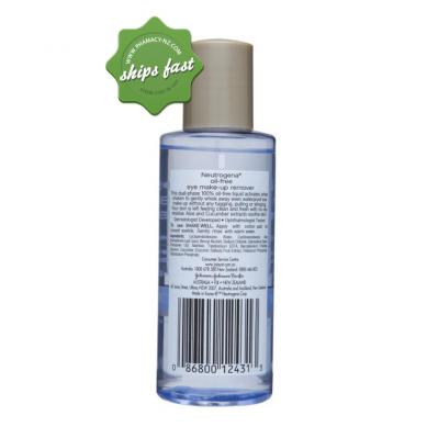 NEUTROGENA OIL FREE MAKE UP REMOVER 112ML (Special buy online only)