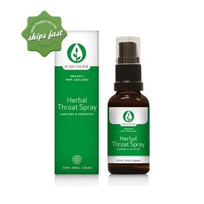 KIWIHERB HERBAL THROAT SPRAY 30ML ORAL LIQUID