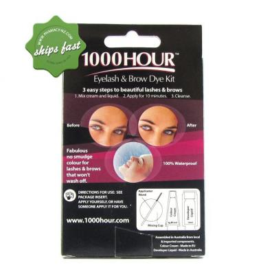 1000 HOUR EYELASH AND BROW DYE BLACK
