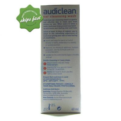 AUDICLEAN EAR CLEANSING WASH SPRAY 60ML