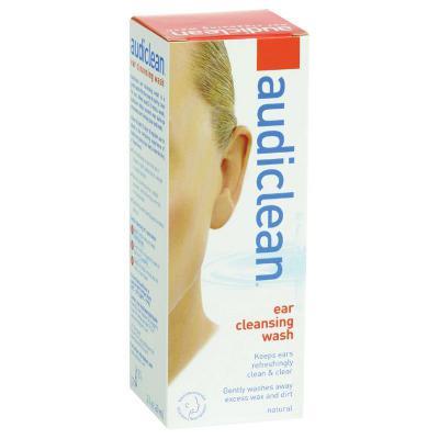 Audiclean Ear Cleansing Wash 60ml