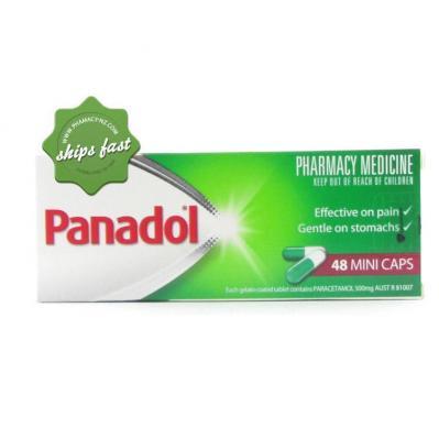 PANADOL MINI CAPSULES 48