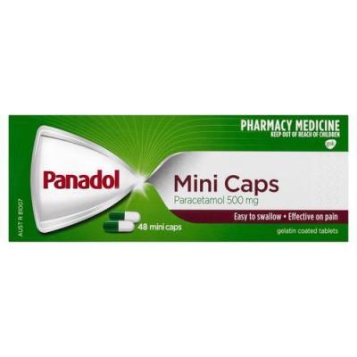 Panadol Mini 48 Capsules