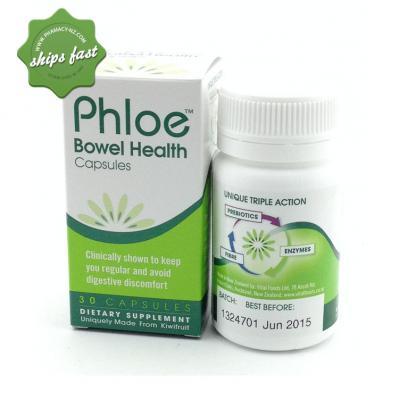 PHLOE HEALTHY BOWEL CAPSULES 30