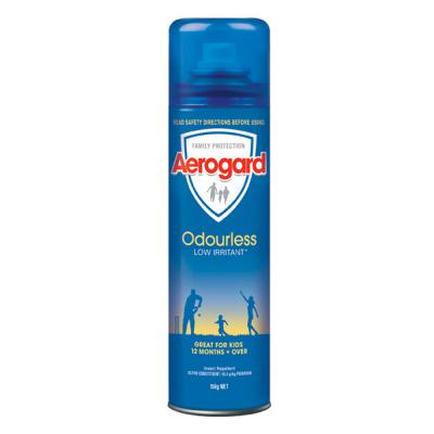 Aerogard Odourless Low Irritant Insect repellent Aerosol 150ml