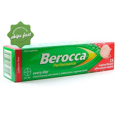 BEROCCA PERFORMANCE EFFERVESCENT ORIGINAL 15s