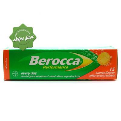 BEROCCA PERFORMANCE ORANGE 15 EFFERVESCENT TABLETS