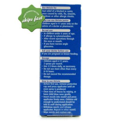 OTRIVIN JUNIOR SPRAY 10ML